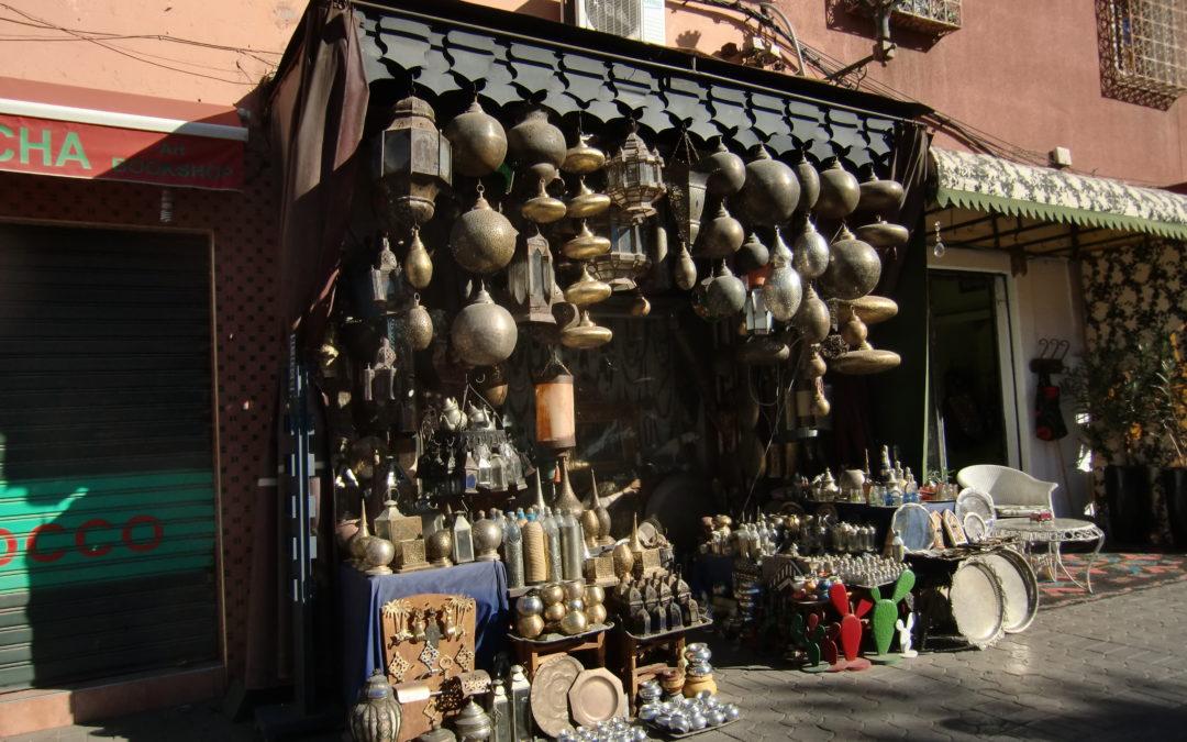 Königsstadt Marrakesch und Wandern im Atlasgebirge