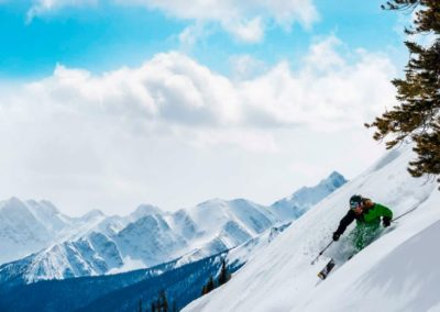 Skiparadies Kanada