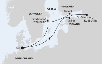 AIDA Spezialangebot – Ostsee