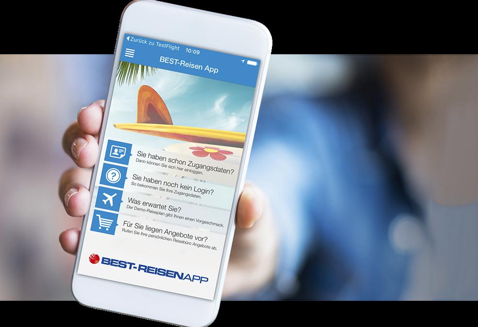 Neu: Die BEST-REISEN App