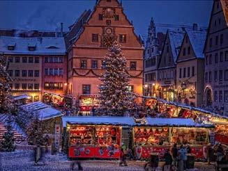 Karpfenessen und Reiterlesmarkt Rothenburg 08.12.2019